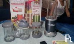 nutri-bullet(900watts) plus!! digital therapy machine
