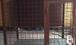 "Big / Large Dog cage Size: Height. 48"" Length. 42"""