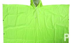 Heavy Duty Poncho Available in Neon Orange & Neon