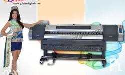 6ft Eco-Solvent Printer Back and front fan Heater
