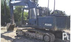 For Sale Used Backhoe/Excavator KOMATSU PC200 Buckets
