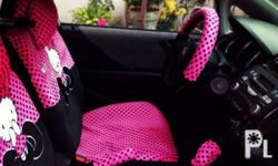 Selling my preloved car seat cover (universal) 6 pcs.