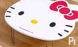 Hello Kitty Foldable Table Size: W:17 inches H: 22