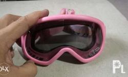 Hello kitty goggles motorcycle or bike What u see is