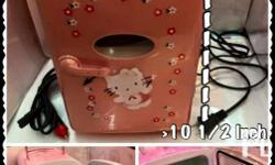 hello kitty mini refrigerator available for two colors