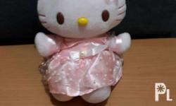 Selling my pre-loved Hello Kitty stuffed toy at a very