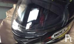 Index Helmet slightly used for only 800 pesos makinis