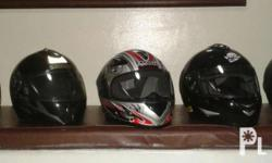 MDS Helmet Condition 9/10 Color white, red & gray Size