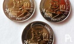 Limited edition of Antonio Luna's commemorative coins