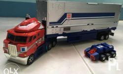 Henkei Optimus prime with parallax g3 trailer Condition