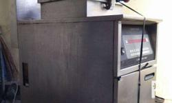 henny penny computron 8000 electric and gas fryer