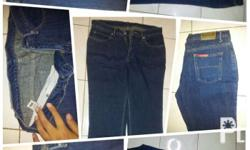 herbench straight cut denim pants condition: GUC Size:
