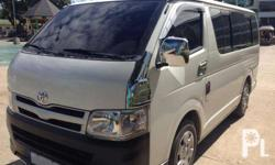 For Sale Toyota Hiace Commuter 2011 model,diesel, with