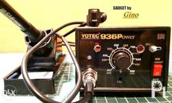 The YOTEC 936P soldering station is an inexpensive,