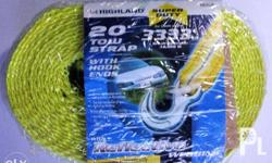 "Brand new Highland 2"" x 20 feet Tow Strap 10180. Bought"