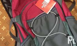 Pink hiking bag with water bag inside Meetup in Cainta