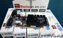 HIS R5 230 Radeon Videocard Brand New Prices : 1GB R5