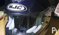 HJC HELMET FS-15 FULL CARBON With bag and owners