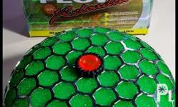 Brand new washable Open type Racing filter HKS green.