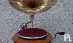 His Master's Voice (HMV) Wooden HMV Gramophone Made in