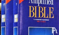 Amplified Bible paperback 800 (2 copies for 1500) SOLD