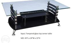 "SKU: 2001-A Promo Price: 2,499.00 >""tempered glass top"