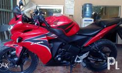 FOR SALE HONDA CBR 150R Fi 120000 neg. first owner, no