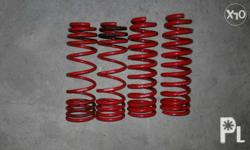 Honda '96 lowering spring Brand: Maxspeed, color red,