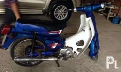 Brand: Honda C70DD JAPAN not Malaysia Color: Blue