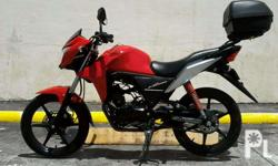 Selling my honda cb110 2014 model,all stock,all are