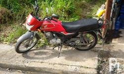 2014 Honda cb125 motorcycle Good condition 1st owner