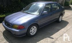 honda city 1996 model.. mags 15'..color blue, nice body