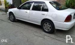 Rush For sale honda city 1997 white. Good running