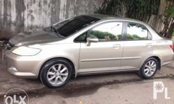 Honda City 2008 VTEC 1500 MT Color: Shoreline Mist