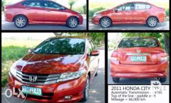 This is the Top of the Line honda City of 2011, with