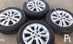 - honda city 2012 mags and tires top of the line - 4