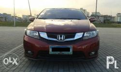 - Honda City 2013 i-VTEC (Top of the Line) - 1.5L