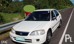 2001 HONDA CITY LXi TYPE Z (Lady owned/driven) Matic