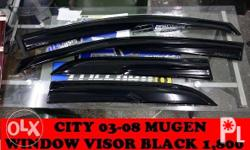 honda city window visor mugen 1,800 cainta rizal along