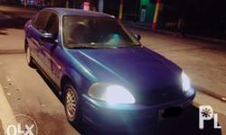 for sale honda civic lxi 1997 color blue 197065milage