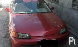 honda civic esi 92 mdl All manual Carb type hks