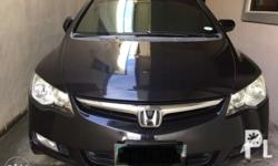 Honda civic 2006 1.8s matic Registered 2nd owned All