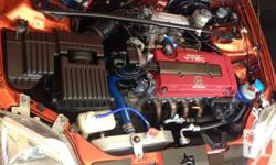 HONDA SiR Bc coilover DC HEADERS DC full exhaust spoon