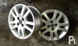 "Honda Civic Vtec3 stock 15"" mags 4 pcs, 4 holes,"