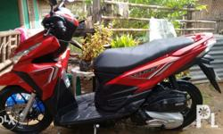 8 months old Honda click Scooter 125, 3 years contract