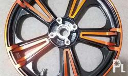 up for sale Mags for HONDA CLICK color metallic orange