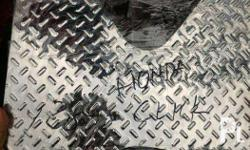 selling bnew stainless matting available honda click