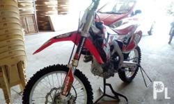 For sale! Crf450r 2015 mdl 37hrs use.. almost new no