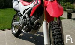 Honda CRF 250L Foreigner's owned He owned many bikes