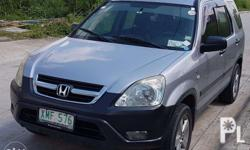 Honda CRV 2003 A/T Fresh In and Out Nothing to fix Open